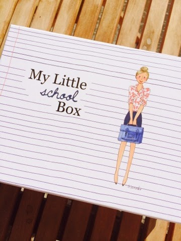 My Little School Box, boxe, boite, emballage, septembre, happy journal