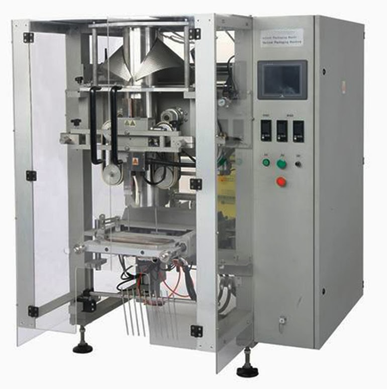 500-1000g salt granule packing machine with Volumetric Cups Verpackungsmaschinen fuer Granule