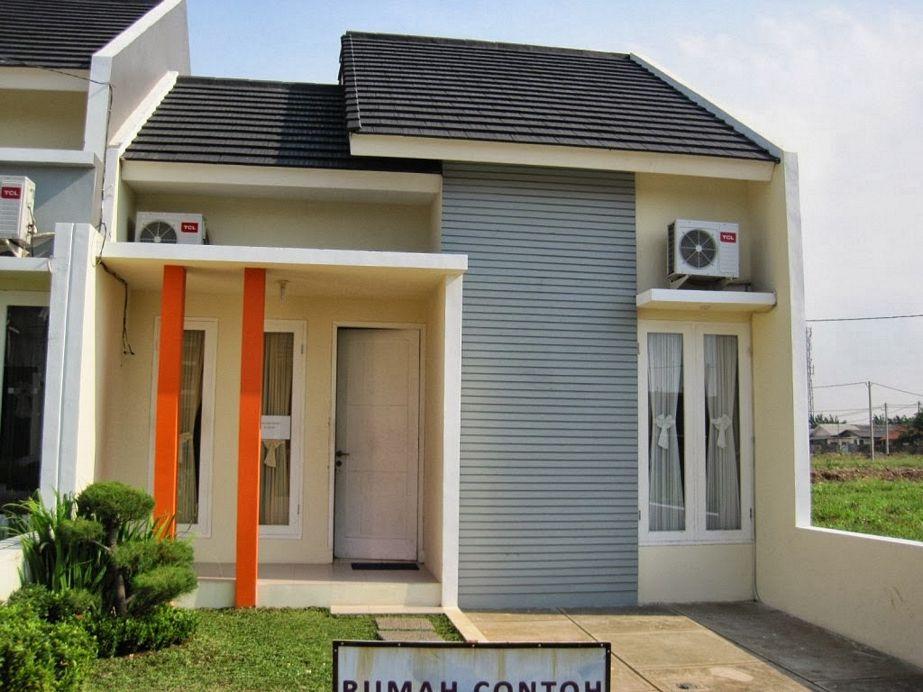 model rumah modern minimalis tipe 36 tampak depan