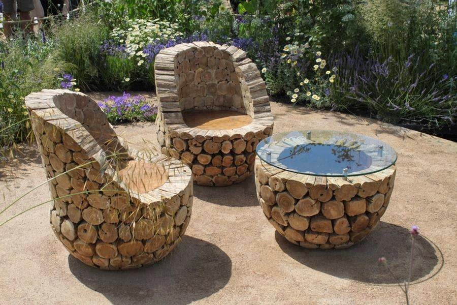 Amazing amp Creative DIY Comfortable Outdoor Furniture