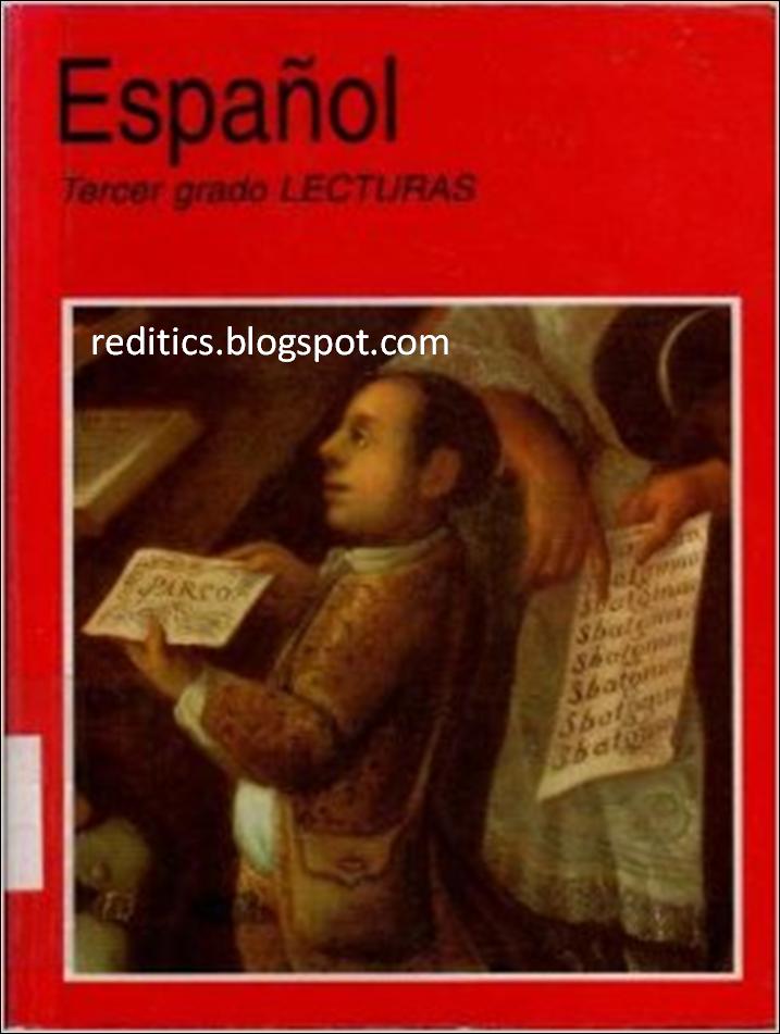 Libro de texto SEP: Tercer Grado Español Lecturas 1999