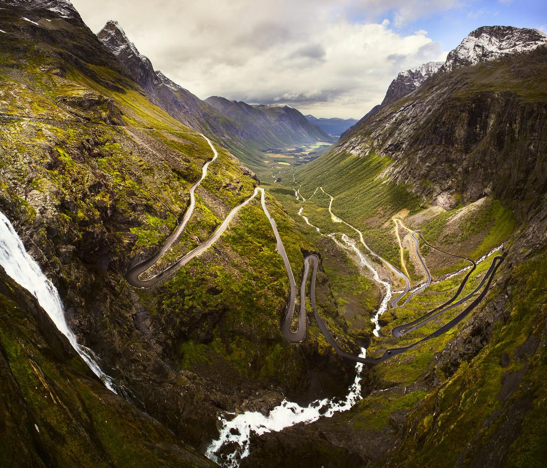 Tänkte ta en cykeltur i Norge. Flyger upp till Tromsö och cyklar söderut med racerhojen.