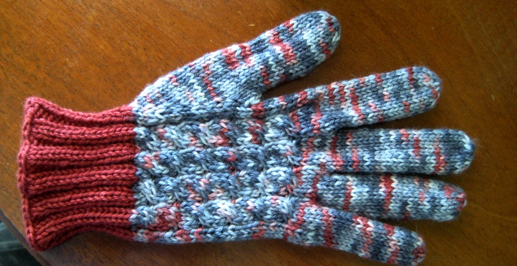Knitting Club Of The Month : Knitting with karma gift knits kit club gloves debut