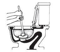 Como poder destapar un inodoro