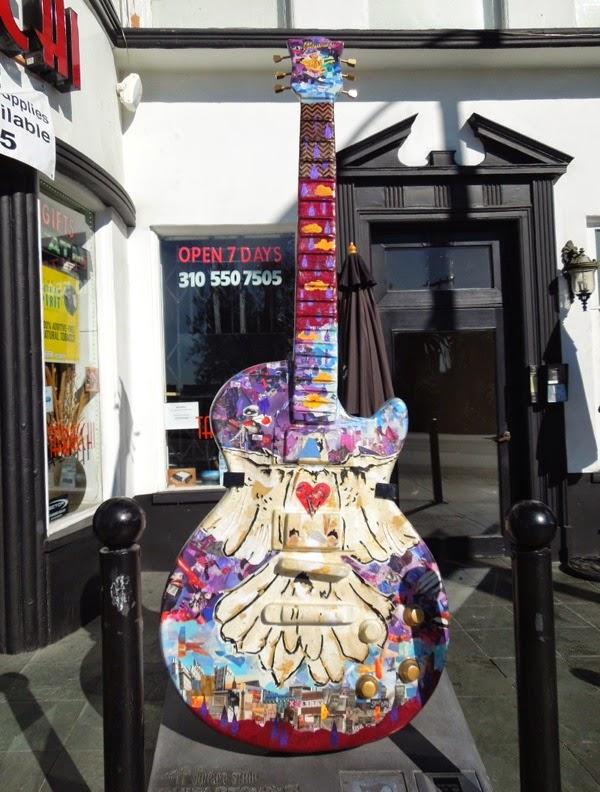 Prince GuitarTown tribute Sunset Strip