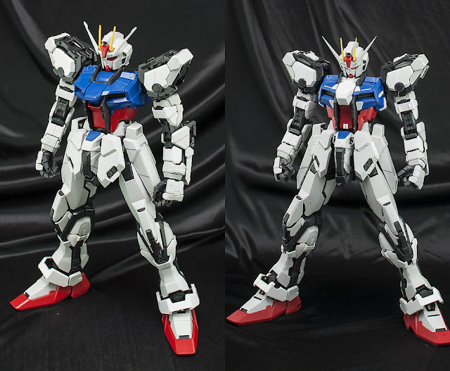 PG Aile Strike Gundam custom build