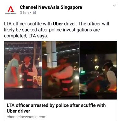 lta uber driver fight