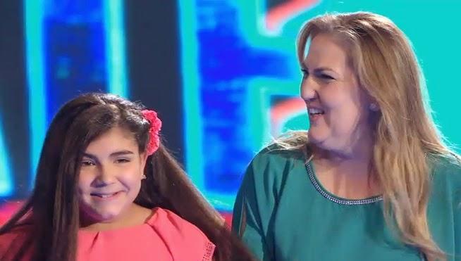 Verónica y Yudit cantan Suerte de Shakira final-levantate