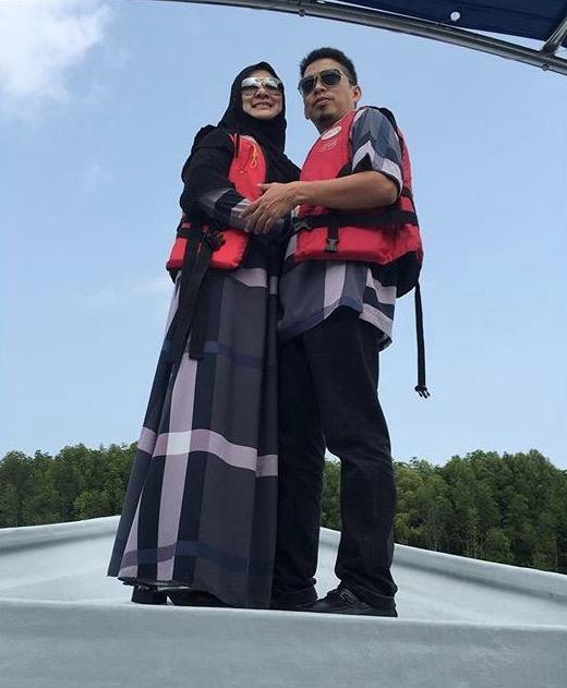 Abby Abadi dan Suami Bulan Madu di Langkawi