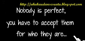 Jangan mencari kesempurnaan