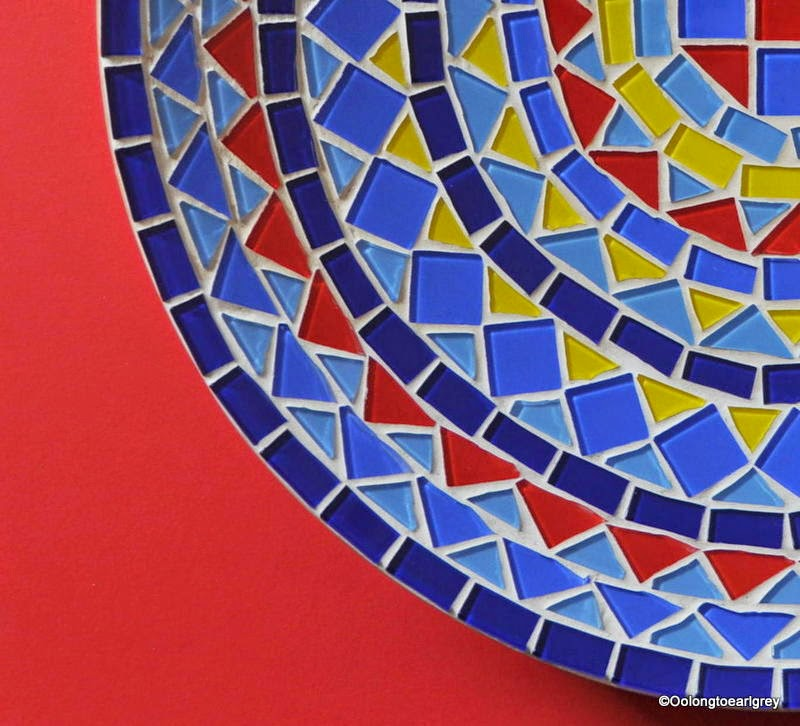 Mosaic Fruit Bowl