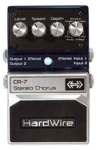 Best Chorus Pedal - Digitech CR-7 Hardwire