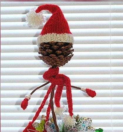 Pi as de pino navide as decoraci n - Pinas de pino para decorar ...