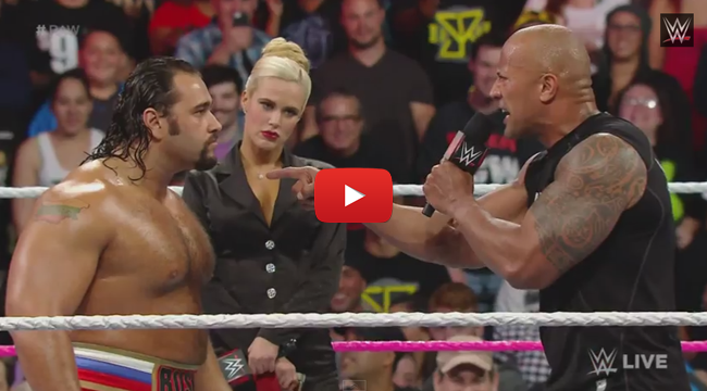 Watch Dwayne 'The Rock' Johnson surprised the WWE Fans
