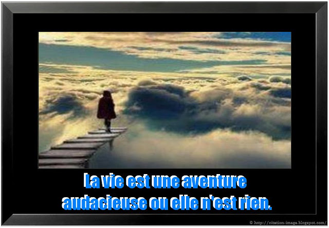 Citation aventure en image