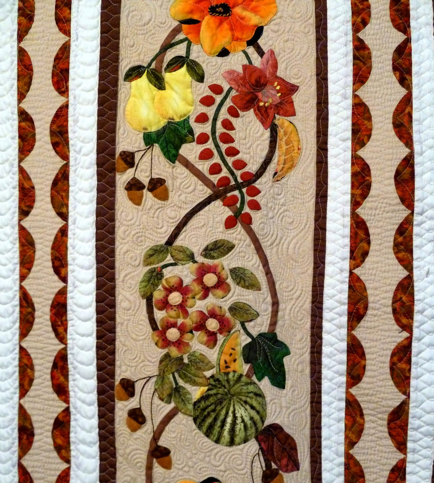 Strawberry Sundae Quilt Pattern Pieced//Applique PS