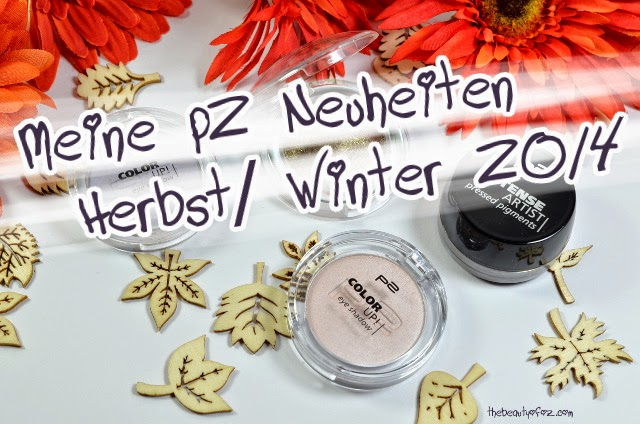 p2 Neuheiten Herbst/ Winter 2014 Lidschatten