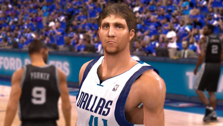 NBA 2K14 Dirk Nowitzki Face Mod