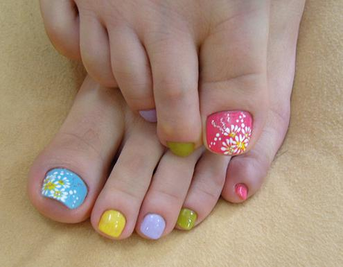 Christmas Toe Nail Designs Nails Ideas