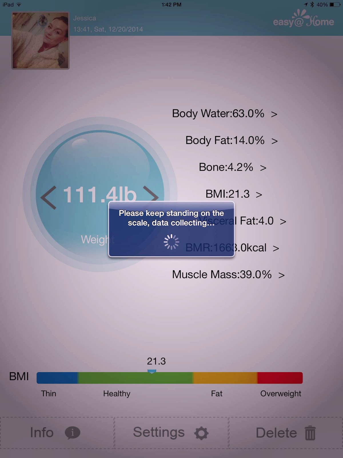 EasyHomeScale App Syncing