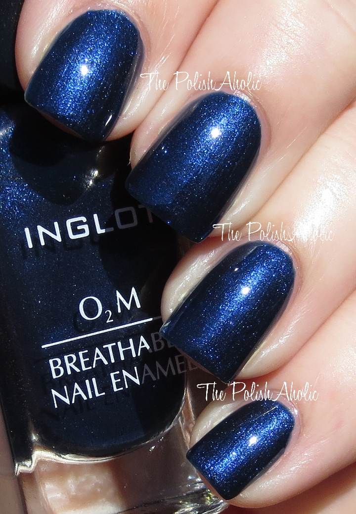 The PolishAholic: Inglot O2M Breathable Nail Enamel 664 & 664 Swatches!