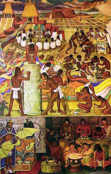 Vivalchimia pan american unity for City college of san francisco diego rivera mural