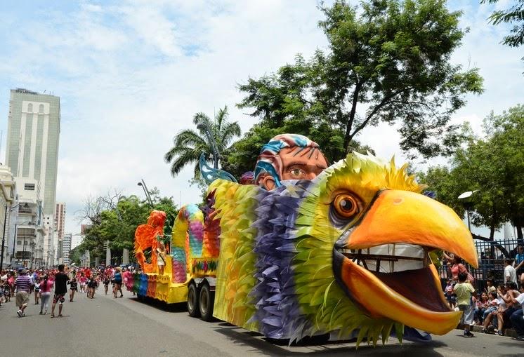 Programa de fiestas Carnaval Guayaquil 2015