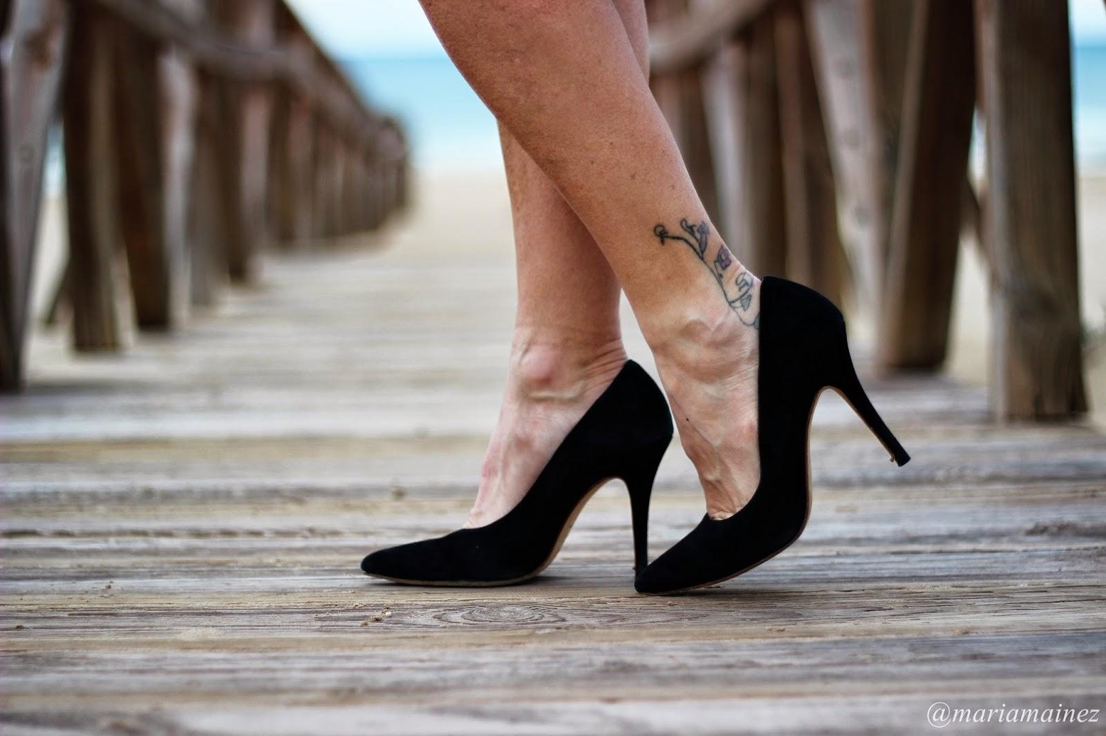 Salones Negros - Calzado piel - Calzados Sandra