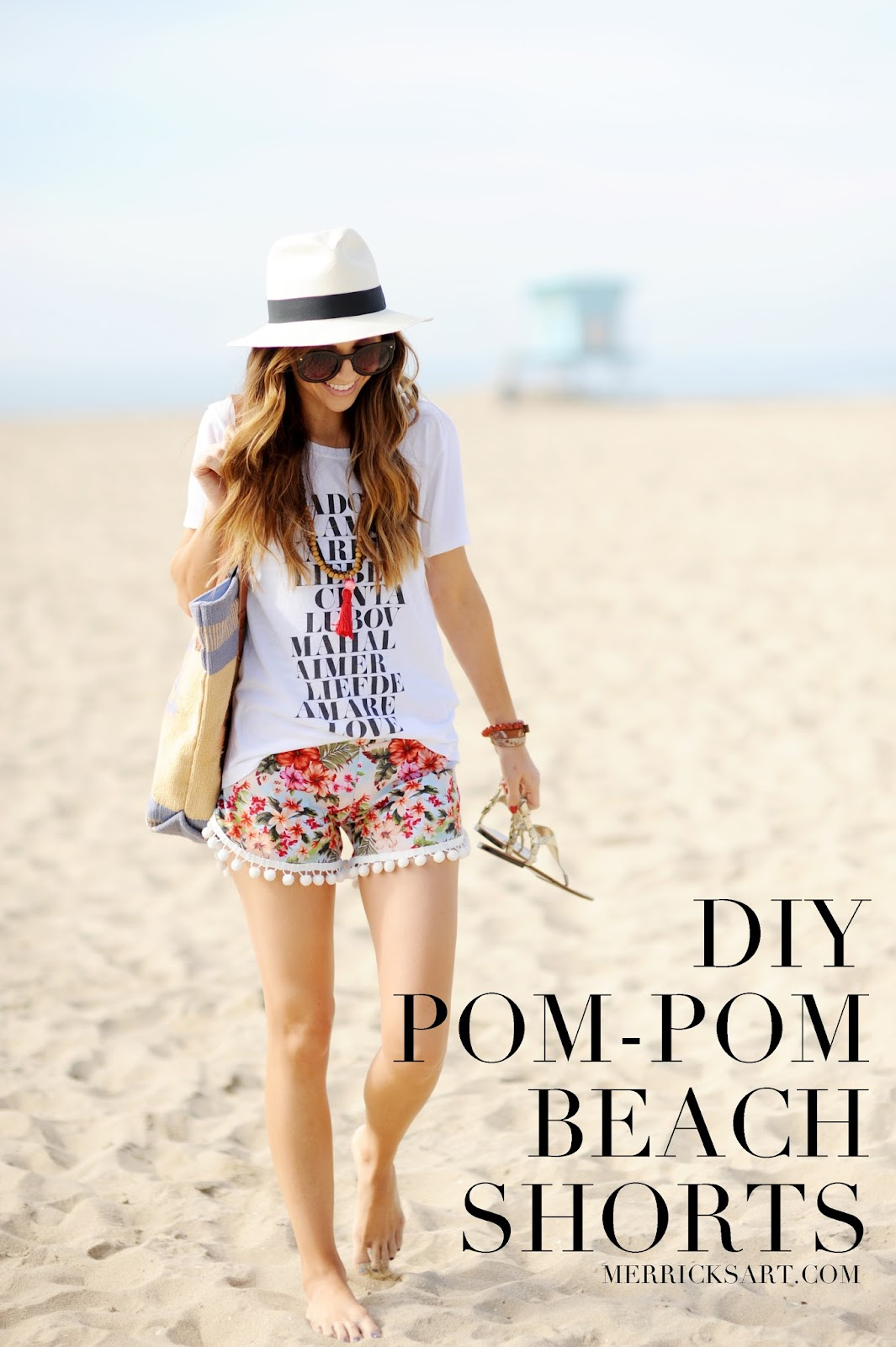excellent pom pom shorts outfit for women