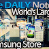 The World's Largest Samsung Store: Samsung d'light shop in Gangnam, Seoul, South Korea