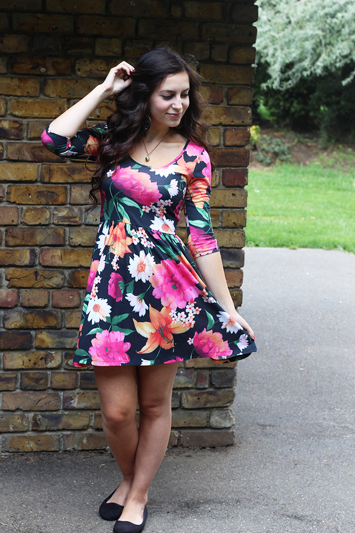 Floral Dress Primark Flowers Bright Pink Stlye How To