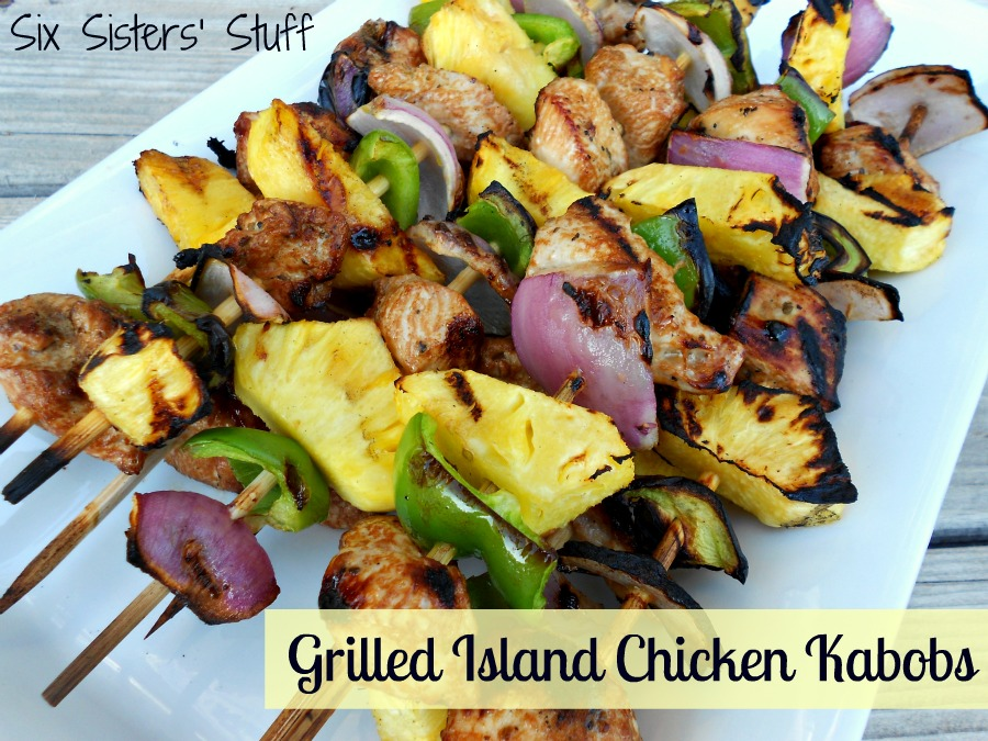 Chicken Kabob Grilled island chicken kabobs