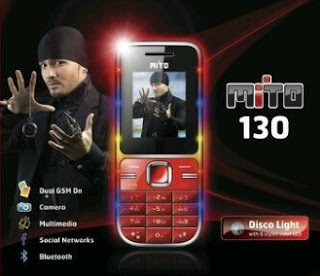 Mito 130, Handphone Murah - IDhandphone - Spesifikasi Harga Ponsel