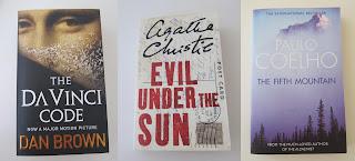 Dan Brown Agatha Christie Paulo Coelho