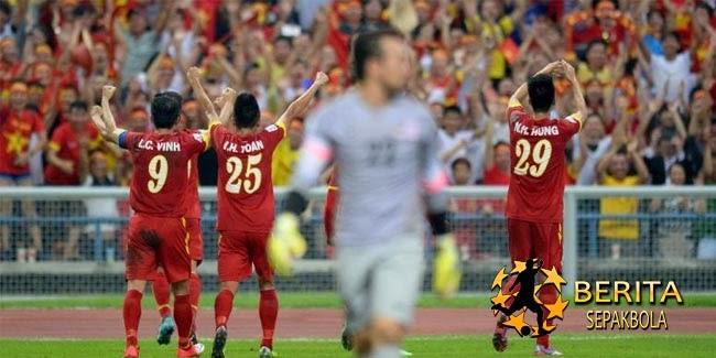 Vietnam Buat Malaysia Tak Berdaya di Shah Alam