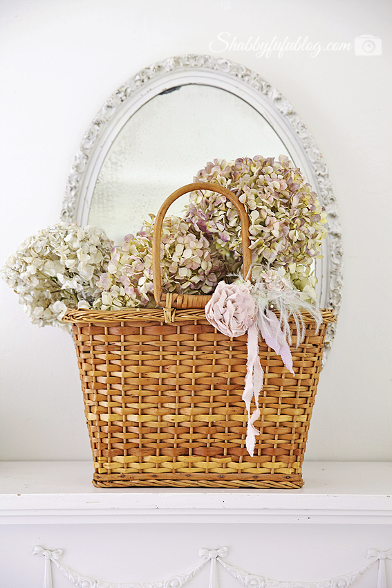 Wicker love and a floral peony wreath project for Wicker meaning