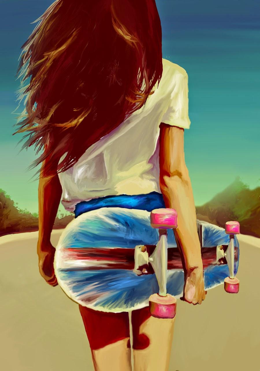 Skate girl :P