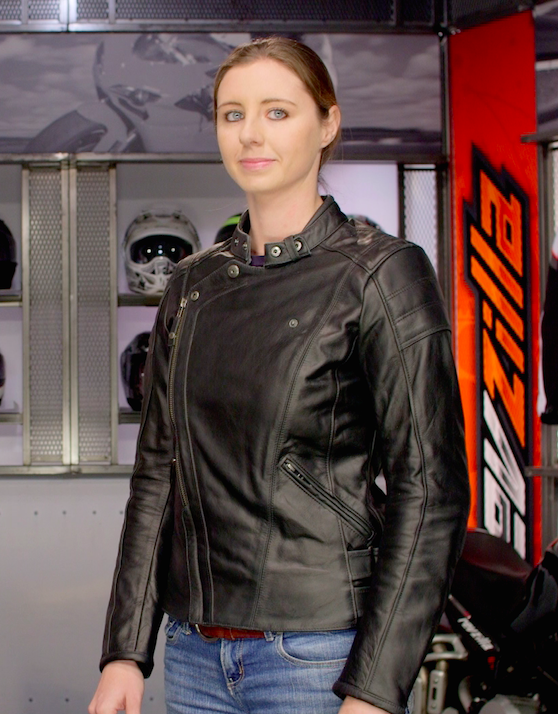 REV'IT! Bellecour Women's Leather Motorcycle Jacket