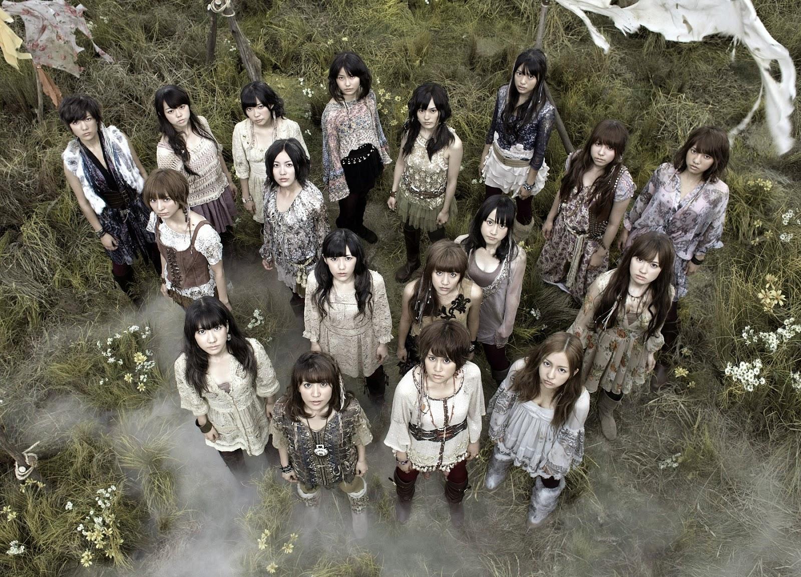 Lirik Dan Terjemahan Lagu AKB48 - Kaze Wa Fuiteiru