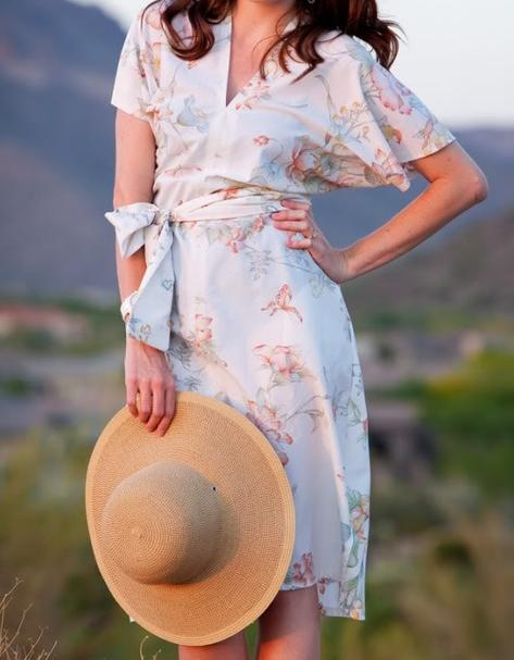 in The Sun(dress Kimono
