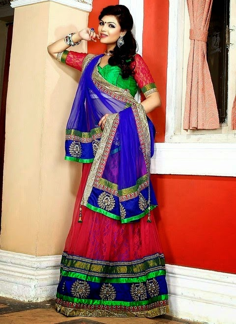 Bridal Lehenga Party Wear Style