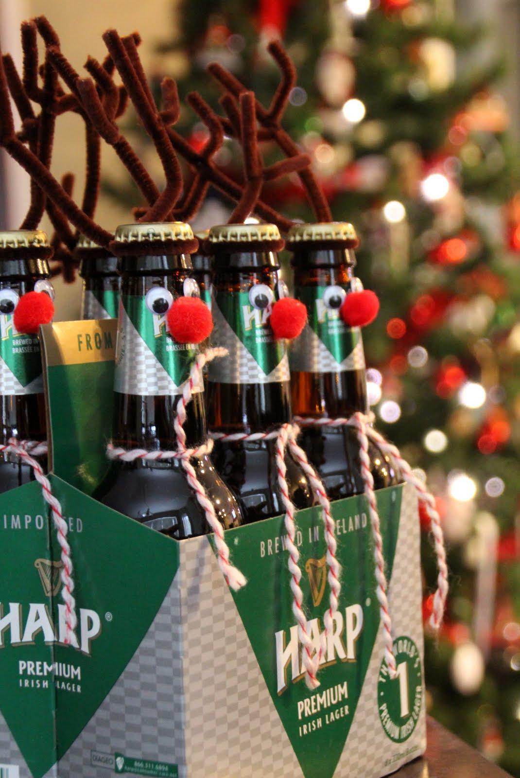 Imagination Station: Reindeer beer gift for guys