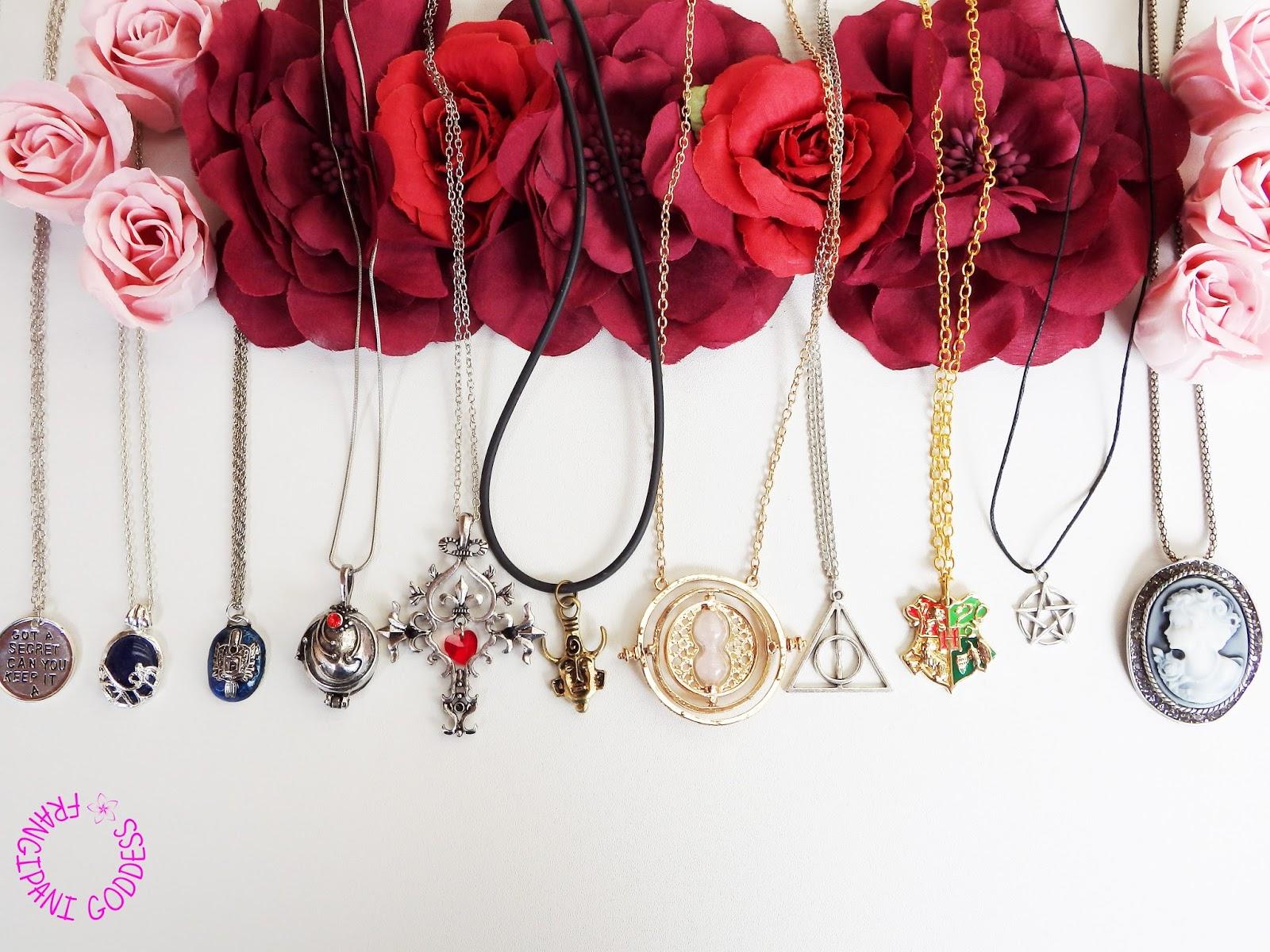 frangipani goddess fandom jewellery