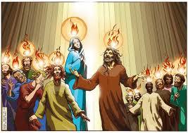 Día De Pentecostés Y La Venida Del Espíritu Santo