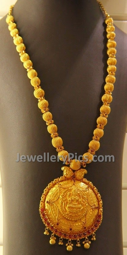 burma rubies gold lakshmi temple mala