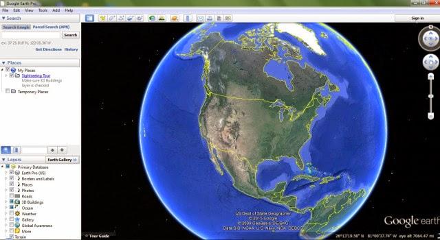 google earth screenshoot