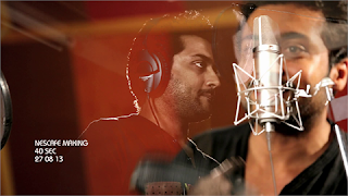 Nescafe Sunrise Ad making With Surya Singing Picture 2013 September (www.suriyaourhero.blogspot.in)