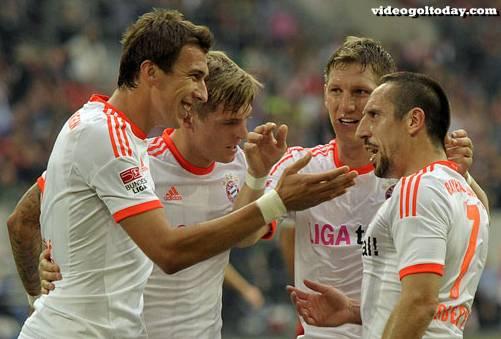 Fortuna Düsseldorf-Bayern 0-5