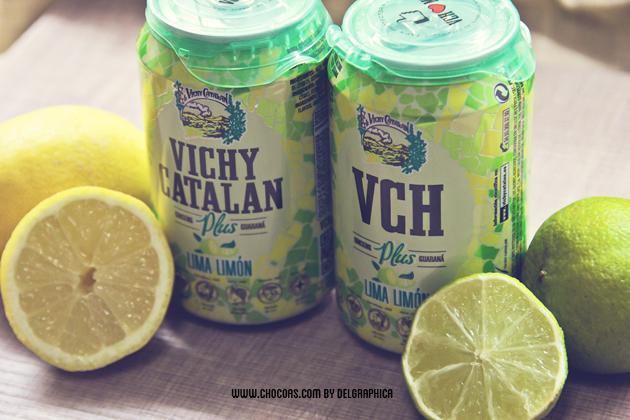 Vichy catalán plus - sabor lima-limón