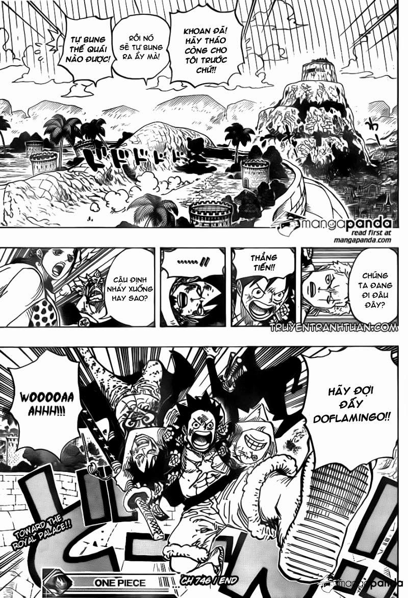 One Piece – Đảo Hải Tặc chap 746 Trang 20 - Mangak.info